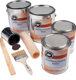 Brew Floors Kit for up to 300 Sq. ft.