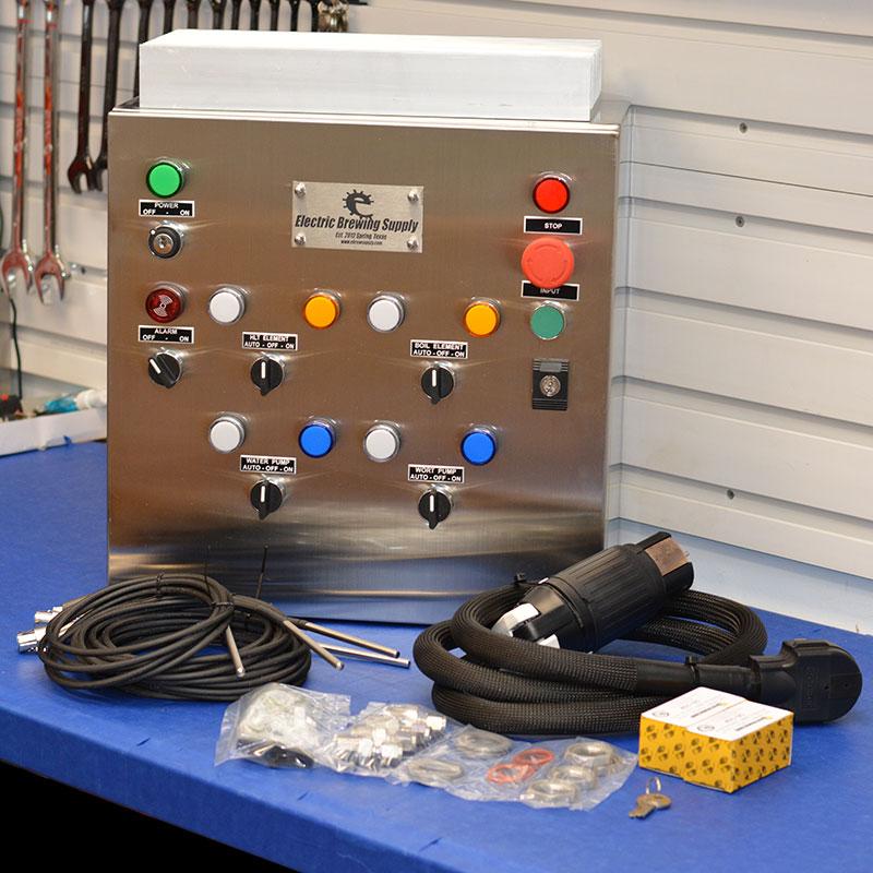 50a BCS Control Panel, 2 elements