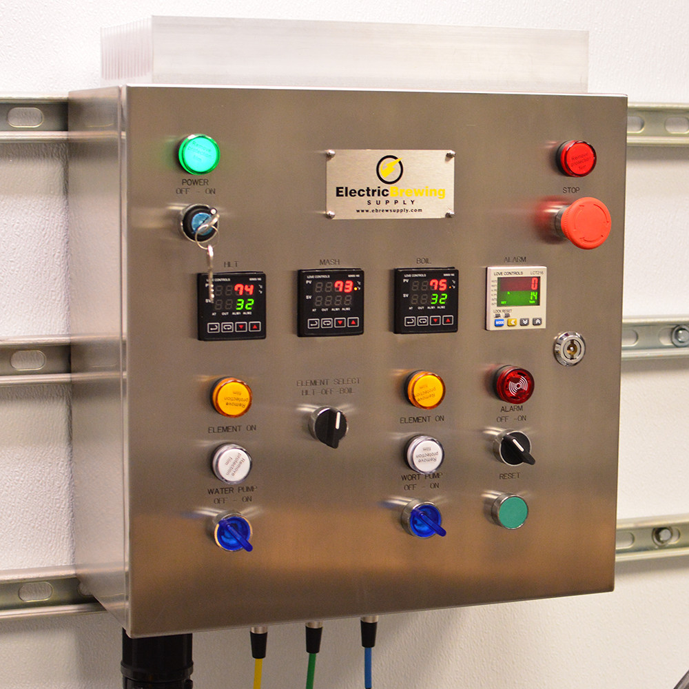 50a PID Complete Control Panel Kit