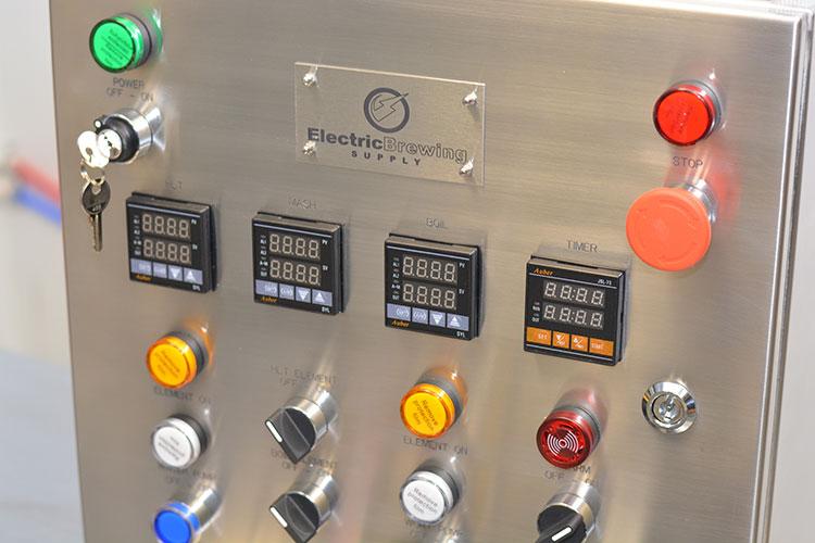 50a PID Control Panel, 2 elements