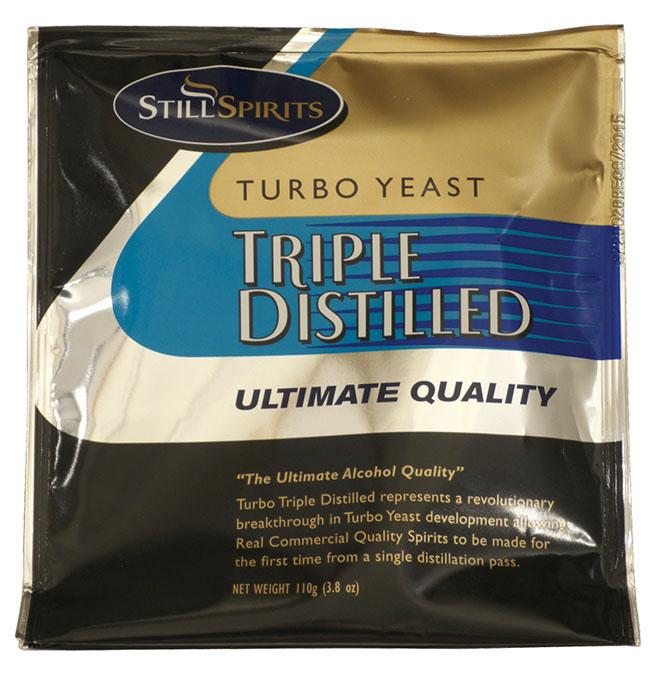 Turbo Yeast - Triple Distilled