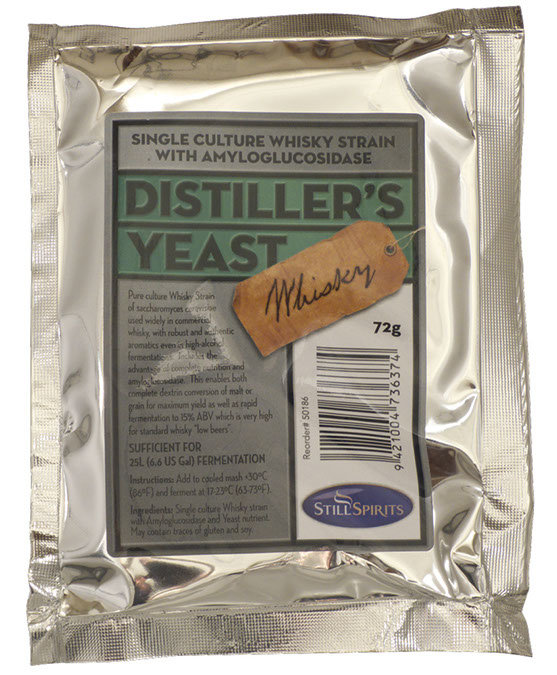 Turbo Yeast - Whiskey Distiller