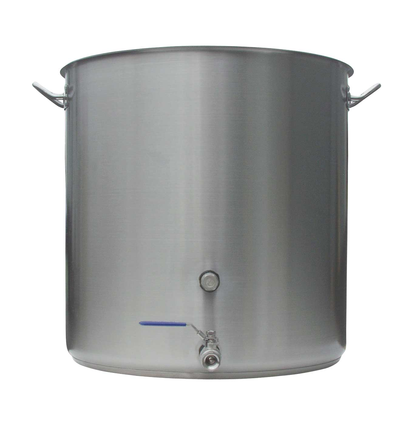 26 Gallon Heavy Duty Stainless Brew Kettle With Notched Lid