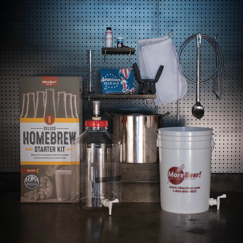 Deluxe Home Brewing Kit with Fermonster