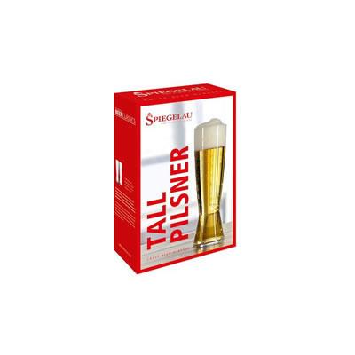 SPIEGELAU Tall Pilsner Glass - 2 Pack