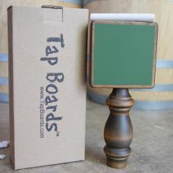 Vintage Green Homebrew Chalkboard Tap Handle
