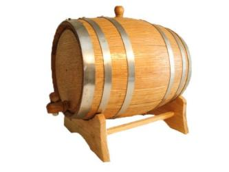 5 Gallon (New) Oak Barrel