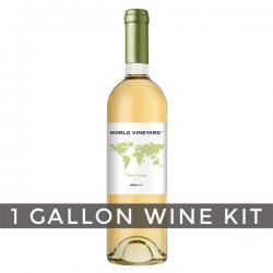 Italian Pinot Grigio, World Vineyard 1 Gallon Wine Kit