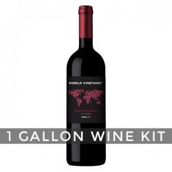 California Cabernet Sauvignon, World Vineyard 1 Gallon Wine Kit