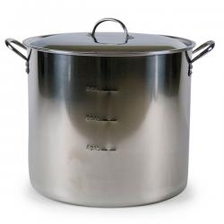 Economy 10.5 Gallon Stainless Brew Pot with Lid