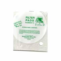 #3 Super Sterile Filter Pad Mini Jet