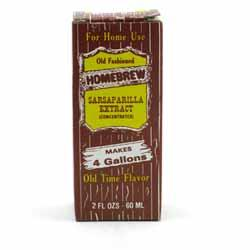 Homebrew Sarsaparilla Soda Extract