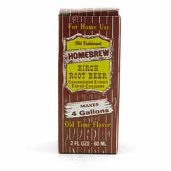 Homebrew Birch Beer Soda Extract
