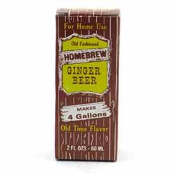 Homebrew Ginger Beer Soda Extract