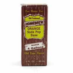 Homebrew Orange Soda Extract