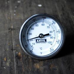 Anvil NPT Dial Thermometer - 2.5 in. Stem