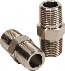 Hex nipple - 1/2in. NPT