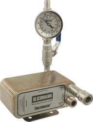 Wort Chiller - Blichmann Therminator Chiller Assembly (With In-Line Thermometer)