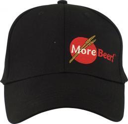 Large/XL Black MoreBeer! Flexfit Hat