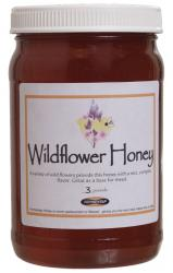 Wildflower Honey (3 lbs)