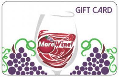 MoreWine! Mailed Gift Card