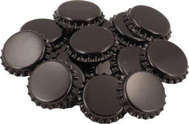 Black Oxygen Absorbing Bottle Caps (100 Caps)