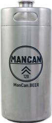 ManCan SS Mini-Keg Growler - 128 oz