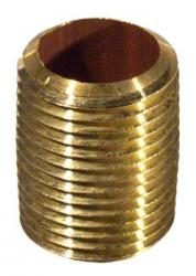 Brass Nipple 1/2