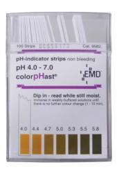 ColorpHast pH Strips - 4.0 - 7.0