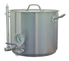 8 Gallon HLT - Stainless Hot Liquor Tank