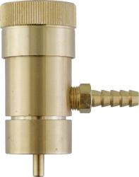 Oxygen Regulator - For Disposable Tanks w/Barb