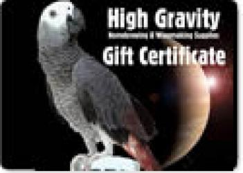 High Gravity Brewing Gift Certificate ($5 - $200)