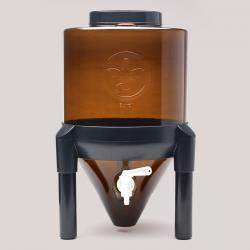 3 Gallon Little Demon Conical Fermenter (Amber)