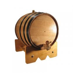 10 Liter Oak Barrel for Aging Beer, Wine, Spirits