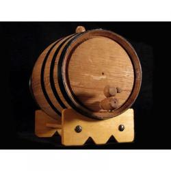 3 Liter Mini Oak Barrel for Aging Beer, Wine, Spirits