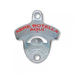 Abre Botella Aqui Wall Mount Bottle Opener