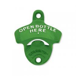 """John Deere Green """"Open Bottle Here"""" Wall Mounted Starr Bottle Opener"""